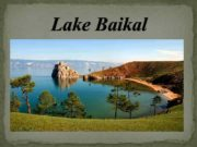 Lake Baikal Where is it situated Lake