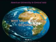 American University in Central Asia Week 1