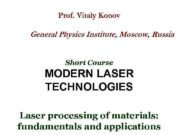 Prof Vitaly Konov General Physics Institute Moscow Russia