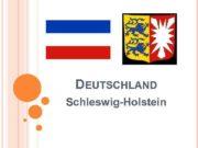 DEUTSCHLAND Schleswig-Holstein SCHLESWIG-HOLSTEIN Sprache Deutsch ca 2