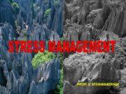 STRESS MANAGEMENT PROF. V. VISWANADHAM 8-Dec-17 2 ?