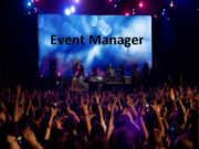 Event Manager Who do they do People