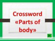 Crossword Parts of body 1 L E