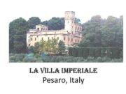 LA VILLA IMPERIALE Pesaro Italy Вилла-Империале La