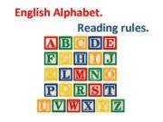 English Alphabet Reading rules Vowels Голосні Позиція