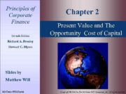 Principles of Corporate Finance Seventh Edition Chapter 2