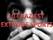 10 CRAZIEST EXTREME SPORTS 1 VOLCANO BOARDING