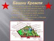 Башни Кремля У Московского Кремля 20 башен и