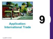 Application International Trade Copyright 2004 South-Western 9