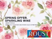 SPRING OFFER SPARKLING WINE ANDREY PEPELIN MANAGER OF