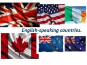 English-speaking countries English extended worldwide GREAT BRITAIN