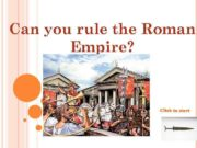 Can you rule the Roman Empire