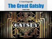 F Scott Fitzgerald The Great Gatsby Literary Fiction