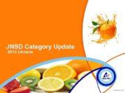 JNSD Category Update 2013 Ukraine NY 2013 -12 -16