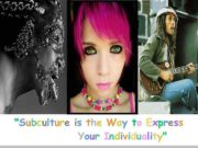 L O G O Subculture is the Way to Express Your