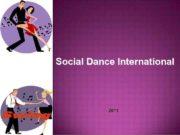 Social Dance International 2011 Social Dance