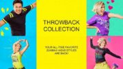 THROWBACK COLLECTION YOUR ALL-TIME FAVORITE ZUMBA WEAR STYLES