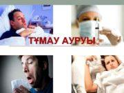 ТҰМАУ АУРУЫ ТҰМАУ Тұмау немесе грипп лат