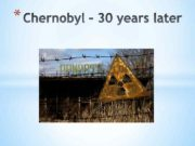 Chernobyl nuclear power