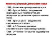 Механизмы регуляции деятельности сердца 1838 — Фолькман