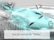 Social network Miks Цели -Наращивание социального капитала