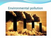 Environmental pollution WATER POLLUTION Settlements The most