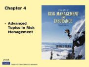Chapter 4 Advanced Topics in Risk Management