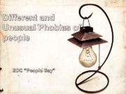 Different and Unusual Phobias of people EDC People