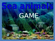 GAME Choose the right option.  What animal