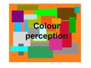 Colour perception What is colour Visible