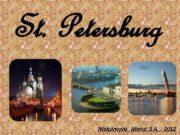 St Petersburg Maksimova Maria 5 A 2012