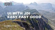 UI WITH JDI EASY FAST GOOD 24 FEBRUARY