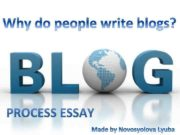 It s well known that blogs are becoming more