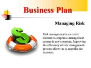 Business Plan Managing Risk management is a crucial