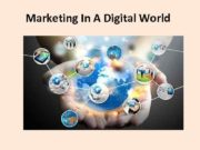 Marketing In A Digital World The Changed