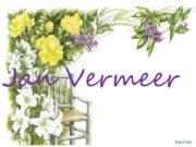Jan Vermeer He was born October 31