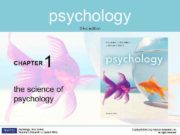 psychology third edition CHAPTER 1 the science of