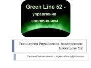 Технология Управления Вовлечением Green Line 52 Управляйте вовлечено