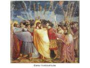 Giotto The Kiss of Judas Donatello David