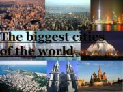 The biggest cities of the world Shanghai