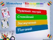 """Методика """"Кольоропис"""" Вишнивецька В.С. Органічні речовини як основа"""