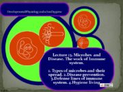 Developmental Physiology and school hygiene Lecture 13. Microbes