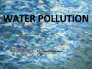 WATER POLLUTION Klochko Olexandr 6 -B Water