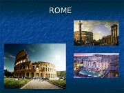 ROME  ITALY  Legend of the founding
