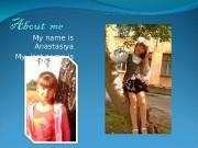 Презентация about me Хрушкова Настя