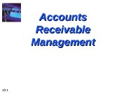 10 — 1 Accounts Receivable Management  10