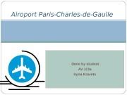 Презентация aeroport