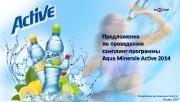 Образец заголовка Предложение по проведению сэмплинг-программы Aqua Minerale