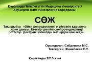 Презентация akush i gin sabdenova 1 tak