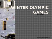 WINTER OLYMPIC GAMES Biathlon Томский Григорий ПДО-15